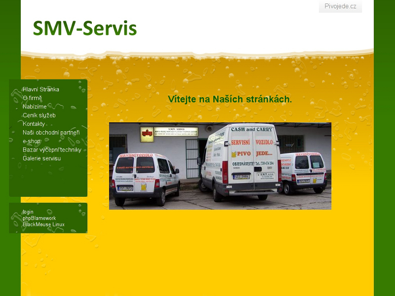 smv-servis.cz screenshot
